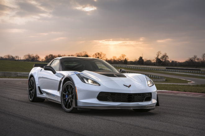 Available on the Z06 3LZ trim, the Carbon 65 Edition celebrates
