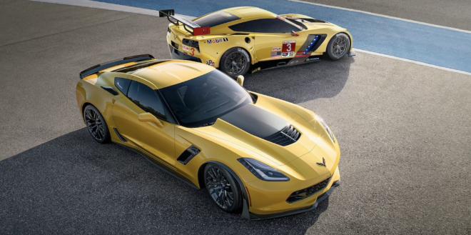2018 Corvette Z06 and C7.R